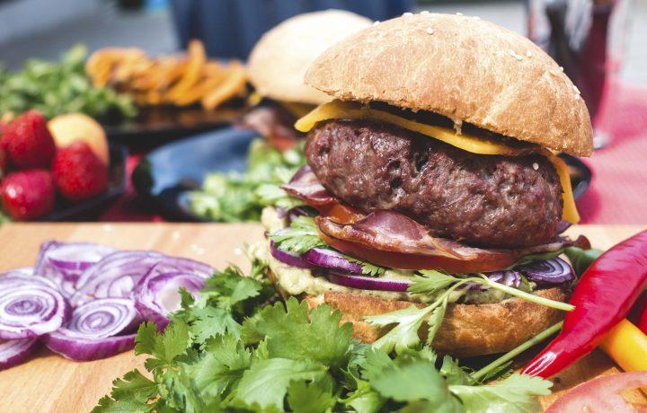 hamburguesa de boletus
