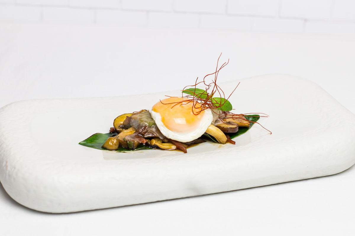 Tapa de Restaurante Dallas III Edición de las Jornadas Gastronómicas de la tapa del champiñón y de las setas de Neofungi en Albacete