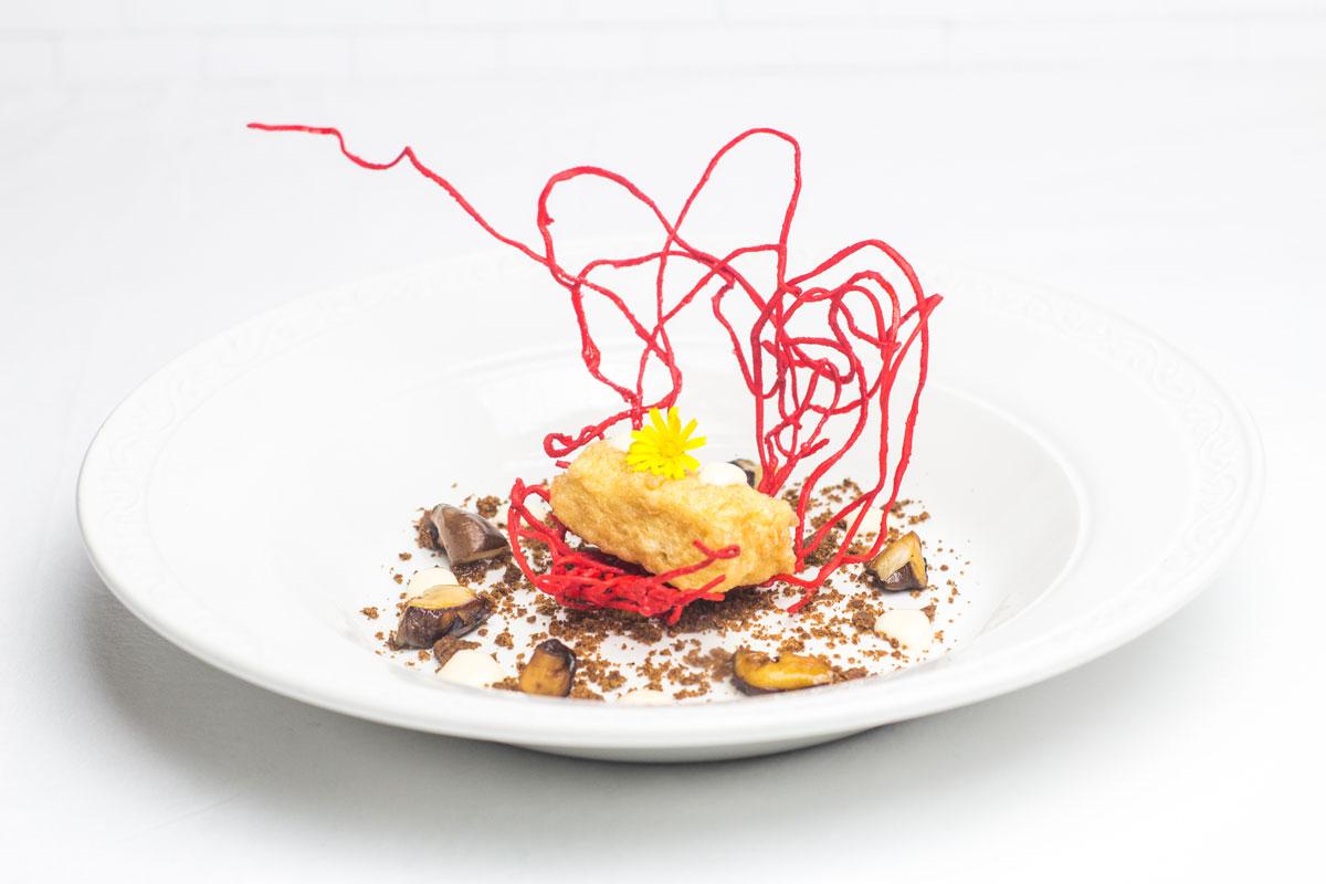 Tapa de Hotel Beatriz III Edición de las Jornadas Gastronómicas de la tapa del champiñón y de las setas de Neofungi en Albacete