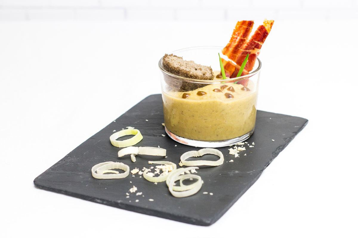 Tapa de Taberna Motivos III Edición de las Jornadas Gastronómicas de la tapa del champiñón y de las setas de Neofungi en Albacete